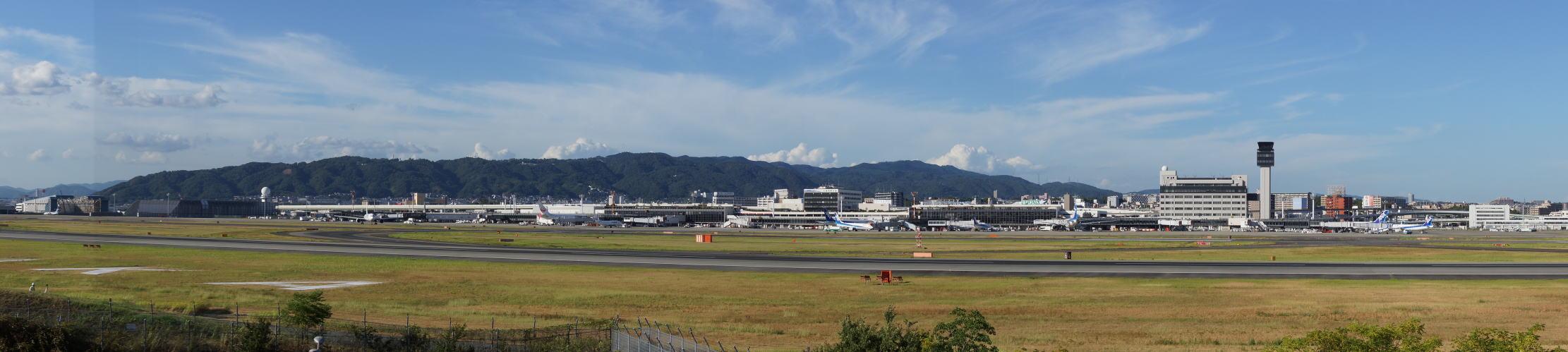 六甲山・伊丹空港 パノラマ