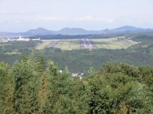 高松空港from高山航空公園
