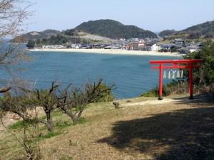 白石島海水浴場-笠岡市-