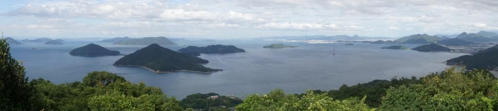 塩飽諸島 from 紫雲出山
