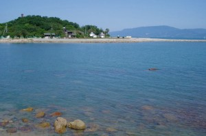 犬島公園遠景