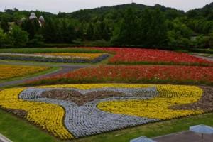 国営備北丘陵公園 花の広場