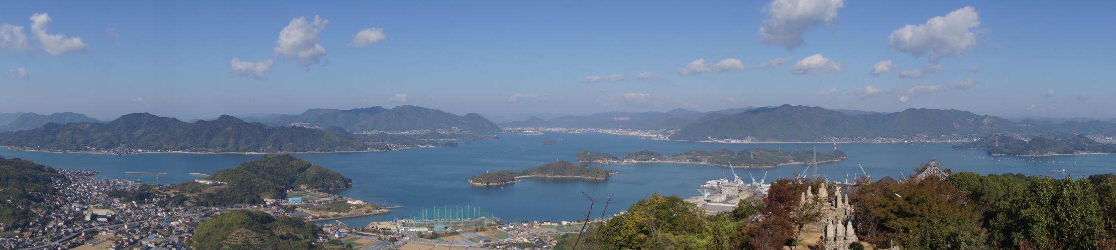 三原・細島方面 from 白滝山