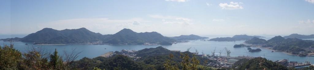 弓削島・佐島・生名島from因島公園