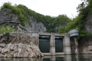 帝釈ダム堰堤