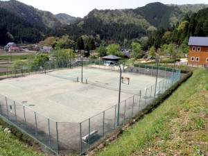 トムソーヤ冒険村 テニスコート