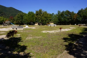 大佐山キャンプ場フリーサイト