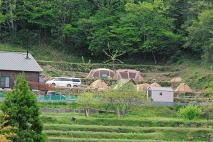 としおじさんのキャンプ場風景