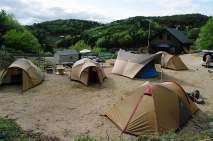 としおじさんのキャンプ場キャンプサイト