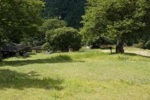 大茅キャンプ場 キャンプサイト