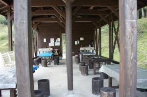 湯の原温泉キャンプ場バーベキュー棟