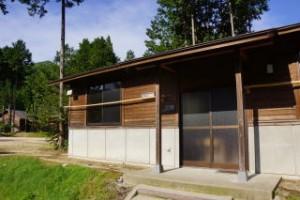 第3キャンプ場 木工体験棟