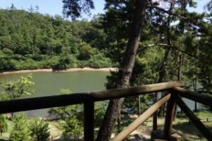 藤波大池fromバンガロー