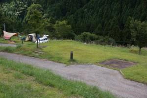 大茅キャンプ場 オートサイト