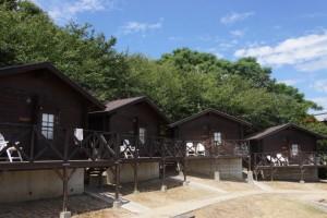 粟島海洋記念公園キャンプ場キャビン