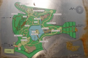 しあわせの村トリム園地現地案内図