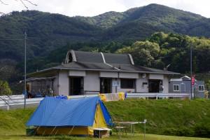 知明湖キャンプ場 管理棟