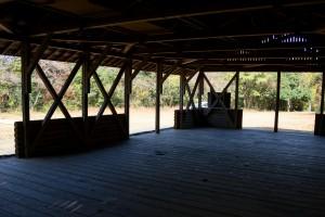 高間キャンプ場 休憩所