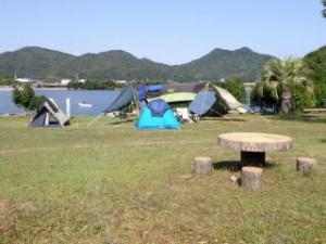 大池オートキャンプ場フリーサイト