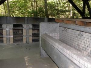 大滝山県民いこいの森キャンプ場第2キャンプ場炊事場