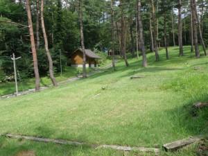 塩釜キャンプ場 テントサイト