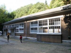 大滝山県民いこいの森キャンプ場調理・食事室