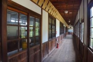 粟島海洋記念館廊下