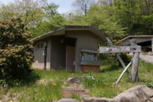 ひろしま県民の森第3キャンプ場トイレ棟