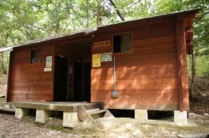 やしろ鴨川の郷キャンプ場 シャワー棟