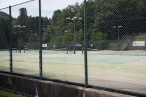 やしろ鴨川の郷 テニスコート