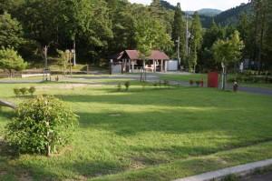 新田ふるさと村 お山のテントサイト