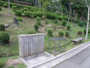 野呂山キャンプ場給水施設