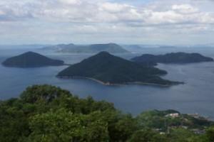 粟島from紫雲出山