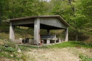 ひろしま県民の森第2キャンプ場炊事棟