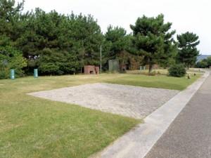 赤穂海浜公園キャンプ場ロイヤルタイプ