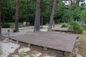 黒木第1キャンプ場 テントサイト