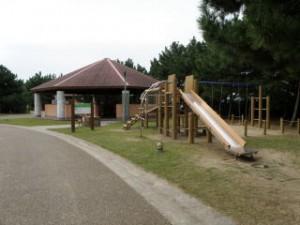 赤穂海浜公園キャンプ場炊事棟