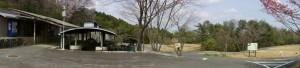 たけべの森キャンプ場パノラマ