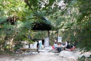 甲山キャンプ場 中央サイト