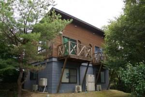 望ヶ丘キャンプ場ロッジ