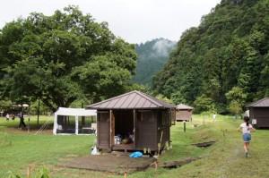長林キャンプ場 観察小屋