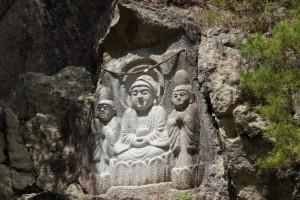 古法華自然公園 磨崖仏
