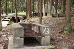 やしろ鴨川の郷キャンプ場 野外炉