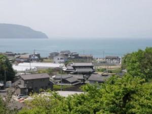 瀬戸内海from小豆島ふるさと村キャンプ場