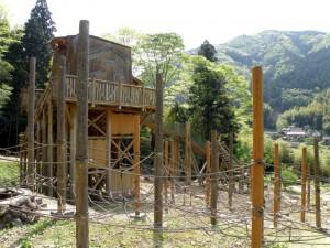 トムソーヤ冒険村 海賊のロープ基地