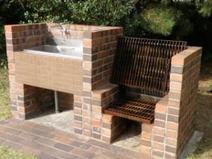 赤穂海浜公園キャンプ場炉