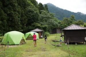 長林キャンプ場 フリーサイト