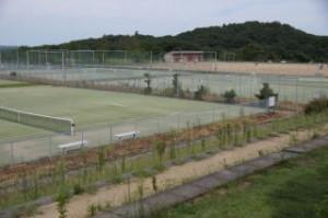 グリーンピア三木 テニスコート