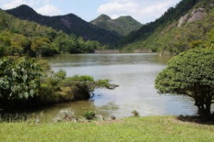 古法華自然公園 大柳ダム