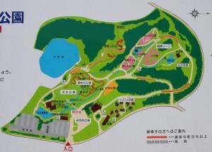 北播磨余暇村公園 現地案内図